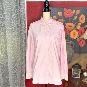 Lilly Pulitzer resort fit pink checkered button up